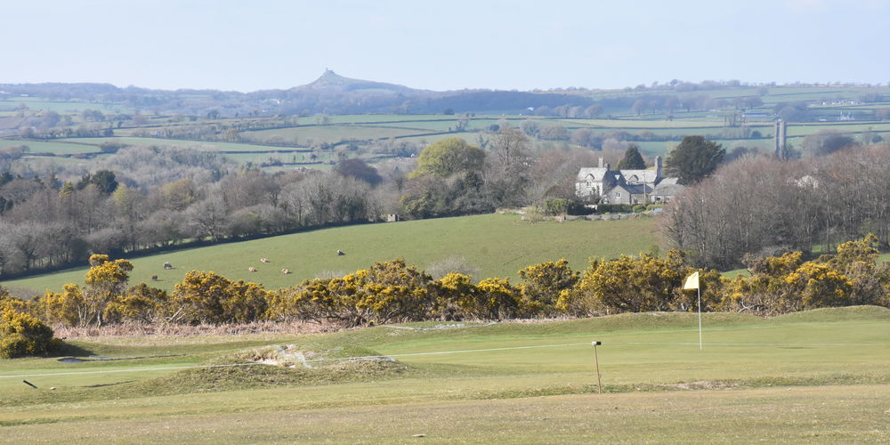 Brentor across third green