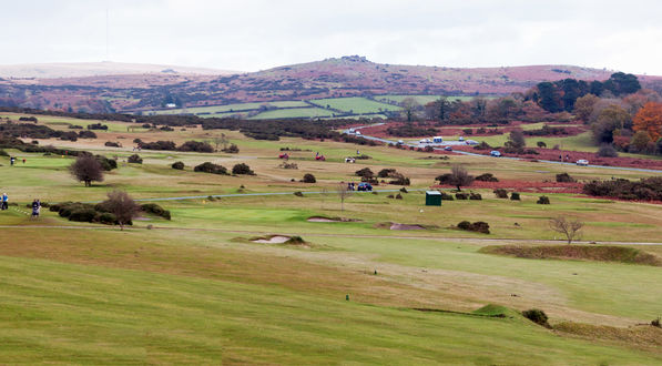 From the 17th  Fairway overlooking the 16th Green
