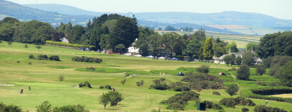 General View, 18th & 5th Greens & 2nd Tee